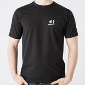 Racy & Lucky Tee (Black - Mens)
